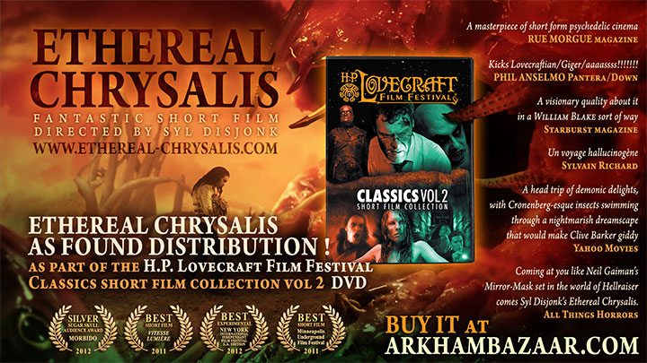 Ethereal Chrysalis - H.P. Lovecraft Classic short film collection vol 2