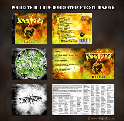 Design de pochette de Cd - design de jaquette de cd