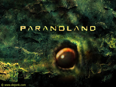 Paranoland - Music band graphic design