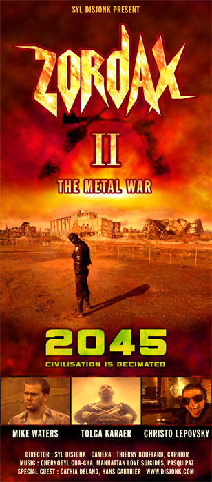 Zordax 2 : The Metal War post apocalyptic short film